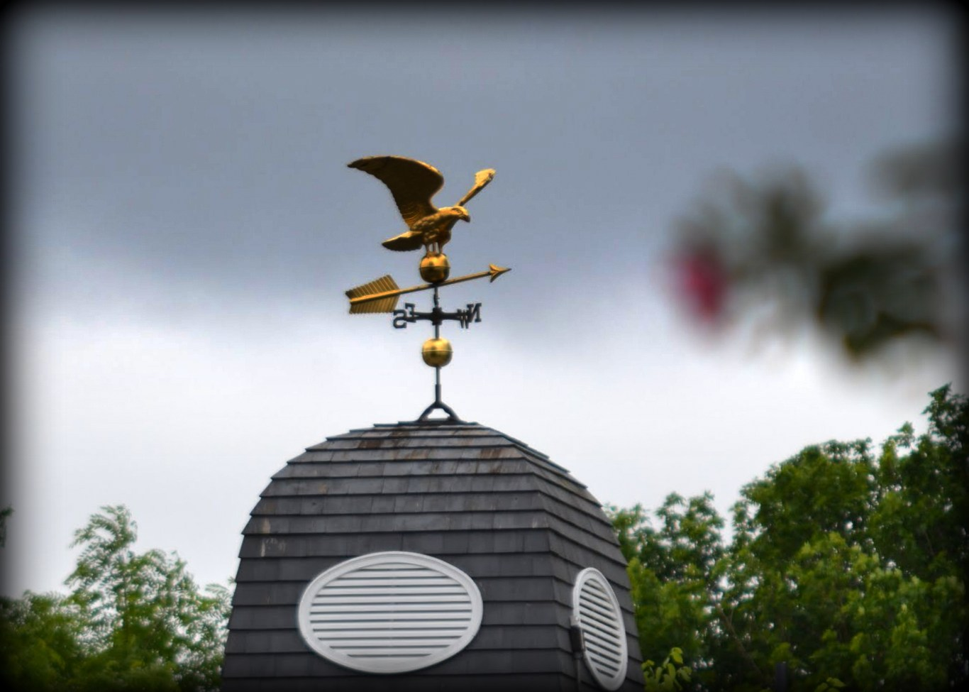 Eagle Weather Vane, Salem, Massachusetts, gold, eagle, weather vane