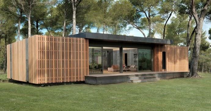 Binnenkant mooi groot goedkoop en snel te bouwen huis - Popup huis ...