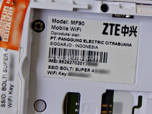 Cara Cepat Dan Mudah Unlock Modem Bolt 4G ZTE MF90