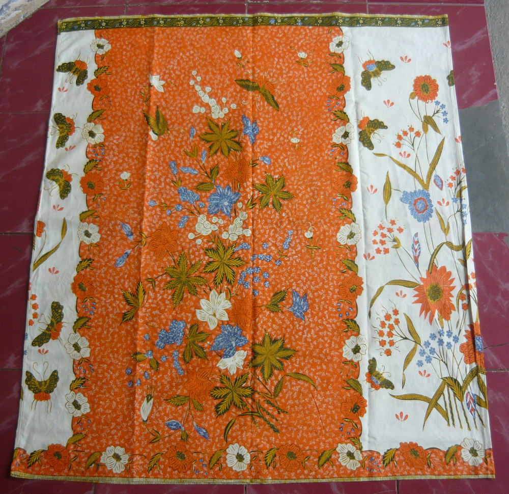 antikpraveda.blogspot.com: Sarung batik PEKALONGAN Orange.