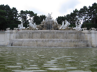 Water Fountain at Schonbrunn