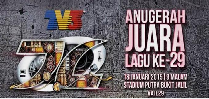 Keputusan Senarai Pemenang AJL29 TV3 18 Jan 2015
