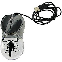 Real Scorpion USB Mouse