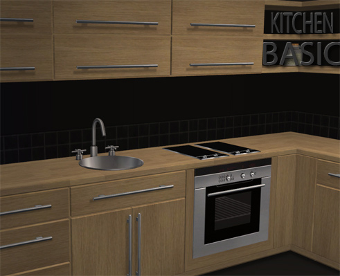 Buggy 39 s retreat kitchenbasic up to date for Basic kitchen cupboards