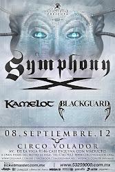 Symphony X + Kamelot + Blackguard