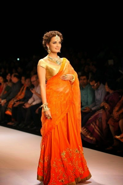 Dia Mirza at Indian Jewellry Week 2014