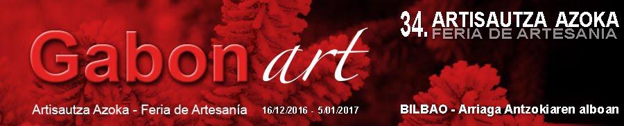 Gabonart-2016 - Feria de artesanía de Navidad de Bilbao