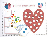 Decorate a Heart Cookie Game