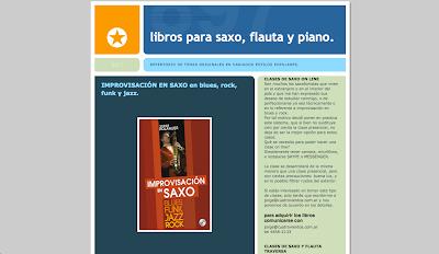 Agrega tu blog a nuestro directorio musical Directoriopax Libros para saxo, flauta y piano