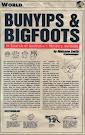 Bunyips and Bigfoots