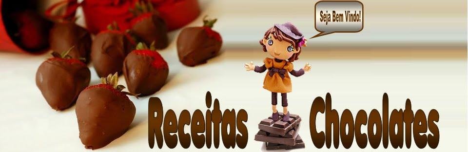 RECEITAS DE CHOCOLATES DIVERSOS