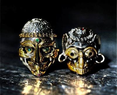 日本銀器品牌zocalo的Kapala 人骨碗