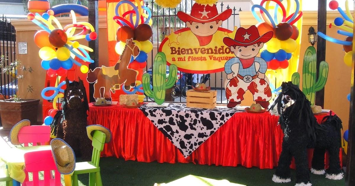 Somos de sombrero andamos a caballo ideas para decorar - Fiesta infantil tematica ...