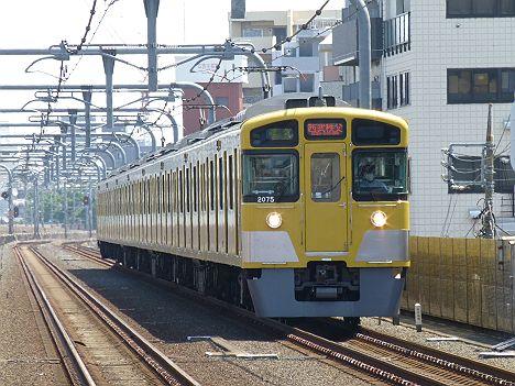西武池袋線 準急 西武秩父行き 新2000系(芝桜臨)