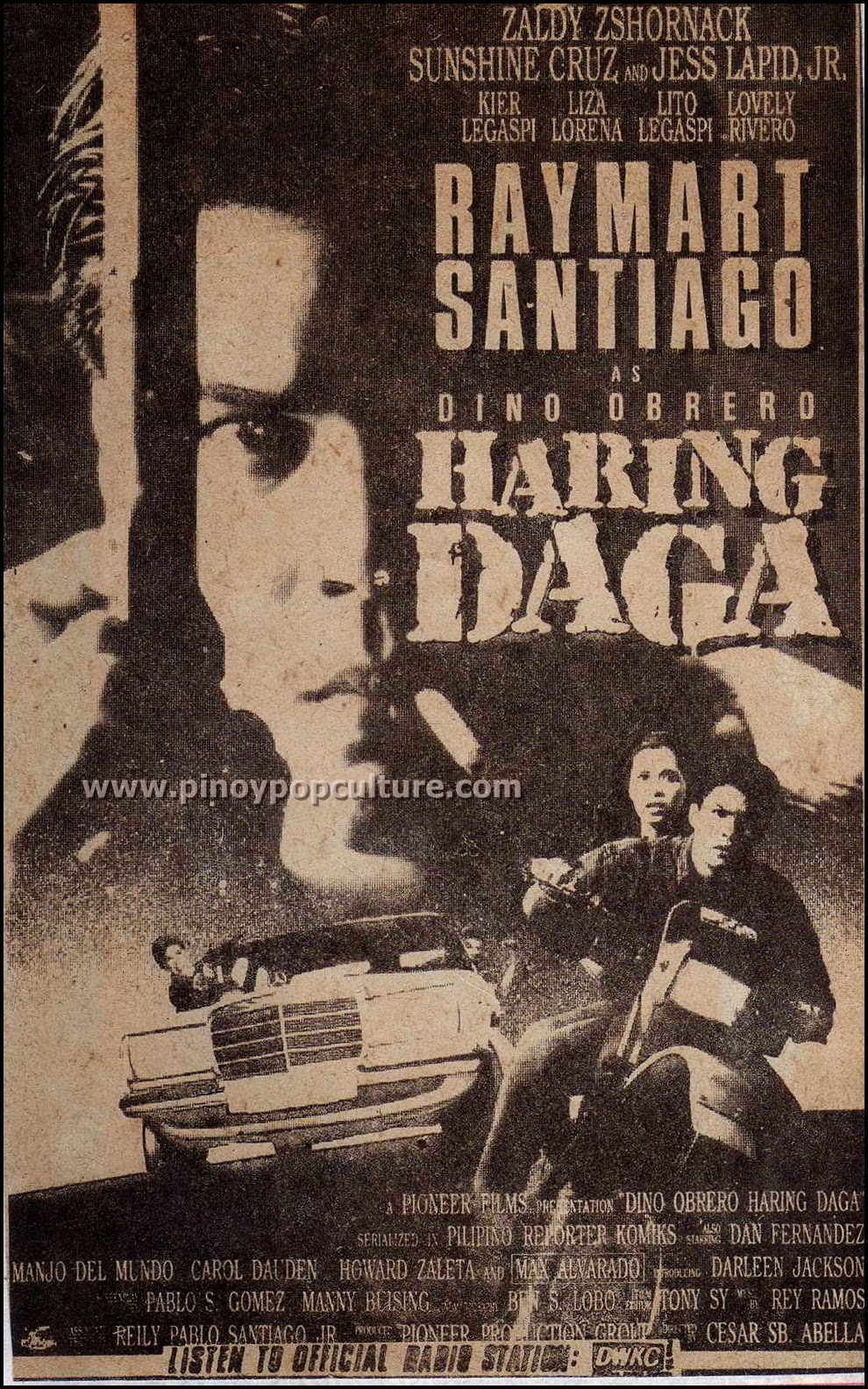 Dino Obrero, Haring Daga, action movies, Raymart Santiago