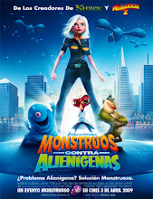 Monsters vs. Aliens (Monstruos vs. Aliens) (2009) [Latino]