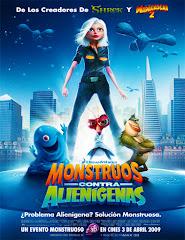 Monsters vs. Aliens (Monstruos vs. Aliens) (2009) [Latino]