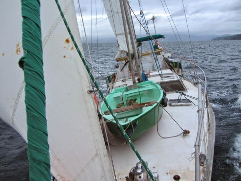 Am Wind in Richtung Suva