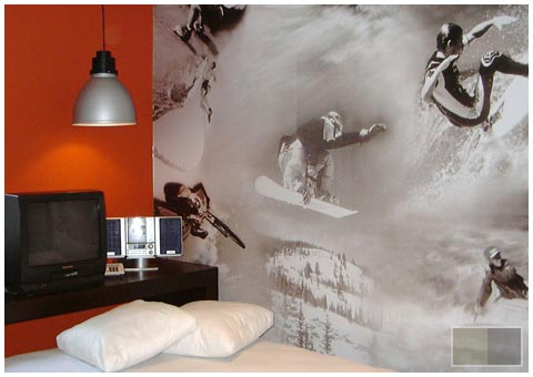 Surf wallpaper bedrooms for teenage