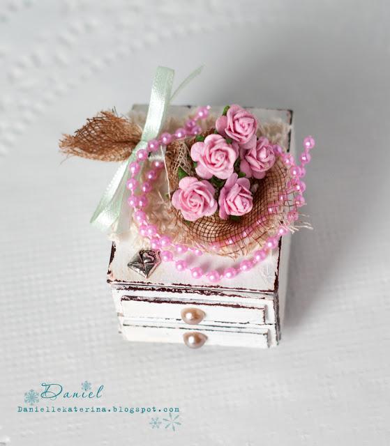 скрапбукинг маленькая коробочка