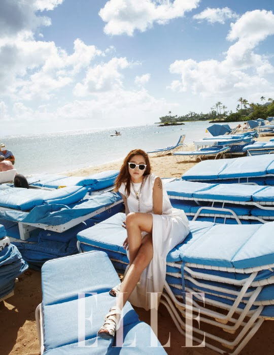 Gong Hyo Jin - Elle Magazine February Issue 2014