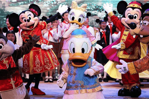 Disneyland Xangai