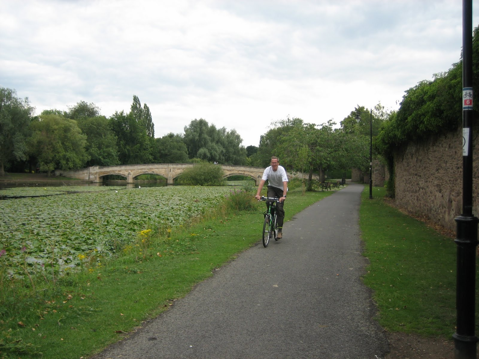 oh the benefits of retirement jane and i had a free day today so we decided to take a trip out to watermead park in leicester and see how sustrans have