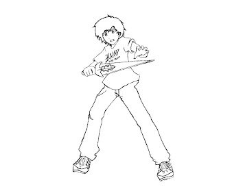 #6 Percy Jackson Coloring Page