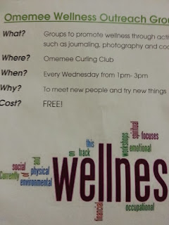 Poster: Free Omemee Kawartha Lakes Wellness Outreach Group