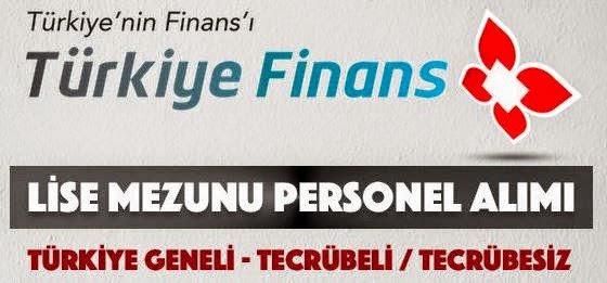 türkiye finans katılım bankası iş ilanları
