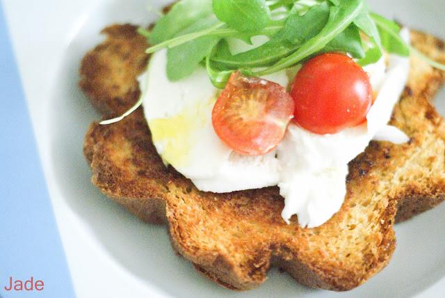 pandoro tomate mozza