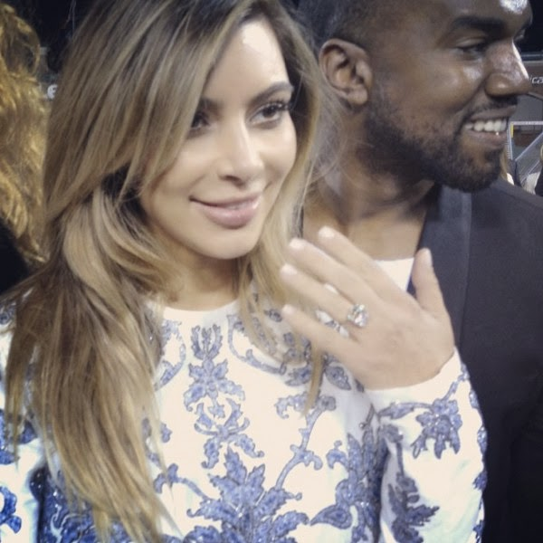PoshTheSocialite Battle Of The Diamond Ring Kim Kardashian Tamar