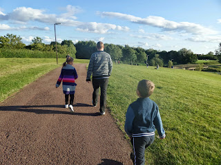 On a Family Walk