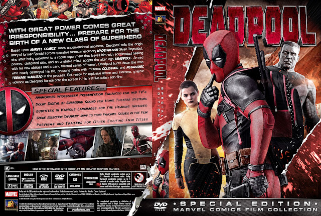 Capa DVD Deadpool