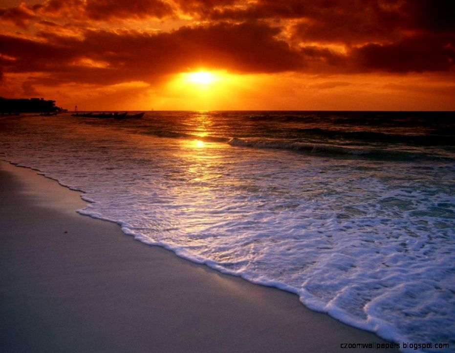 Beach Sunrise Wallpaper Desktop Background 1 HD Wallpapers