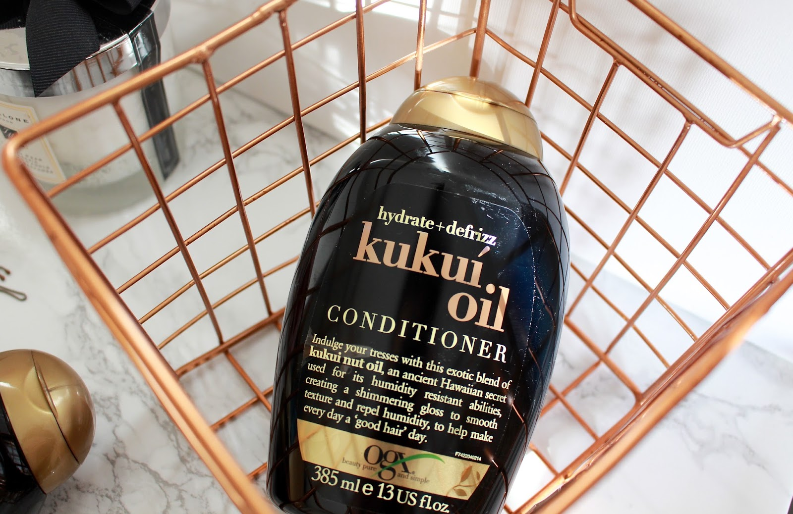 OGX Kukui Oil Review