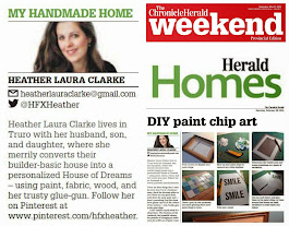 My weekly DIY column