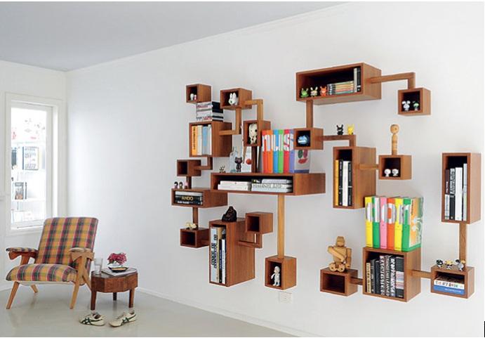 Telma aguiar arquitetura cultura decora o design e - Lack estante de pared ...