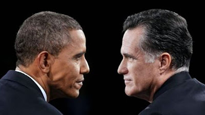 President Barack Obama (left) and candidate Romney - Photo: CI