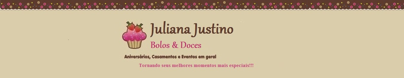 Juliana Justino - Bolos & Doces
