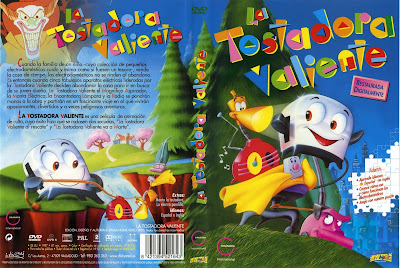 Cover, dvd, carátula, disney: La tostadora valiente | 1987| The Brave Little Toaster
