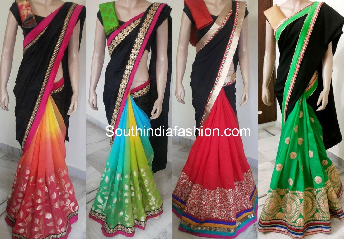 latest sarees 2014