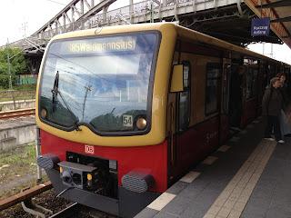 Die S-Bahn kommt nicht vorwärts, aus Der Tagesspiegel