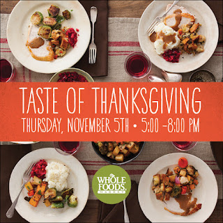 Whole Foods Market Taste of Thanksgiving: supports local schools