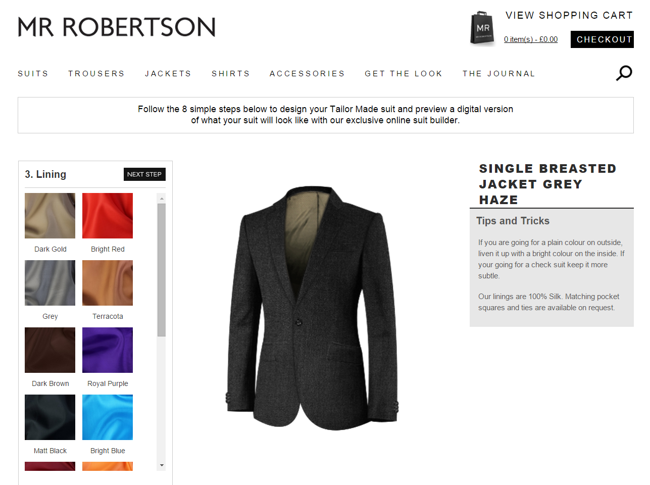 REVIEW: Mr Robertson custom shirts and suits | The Test Pit