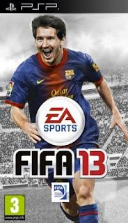 تحميل لعبه كرة قدم فيفا للبي اس بي FIFA Soccer 2013 PSP