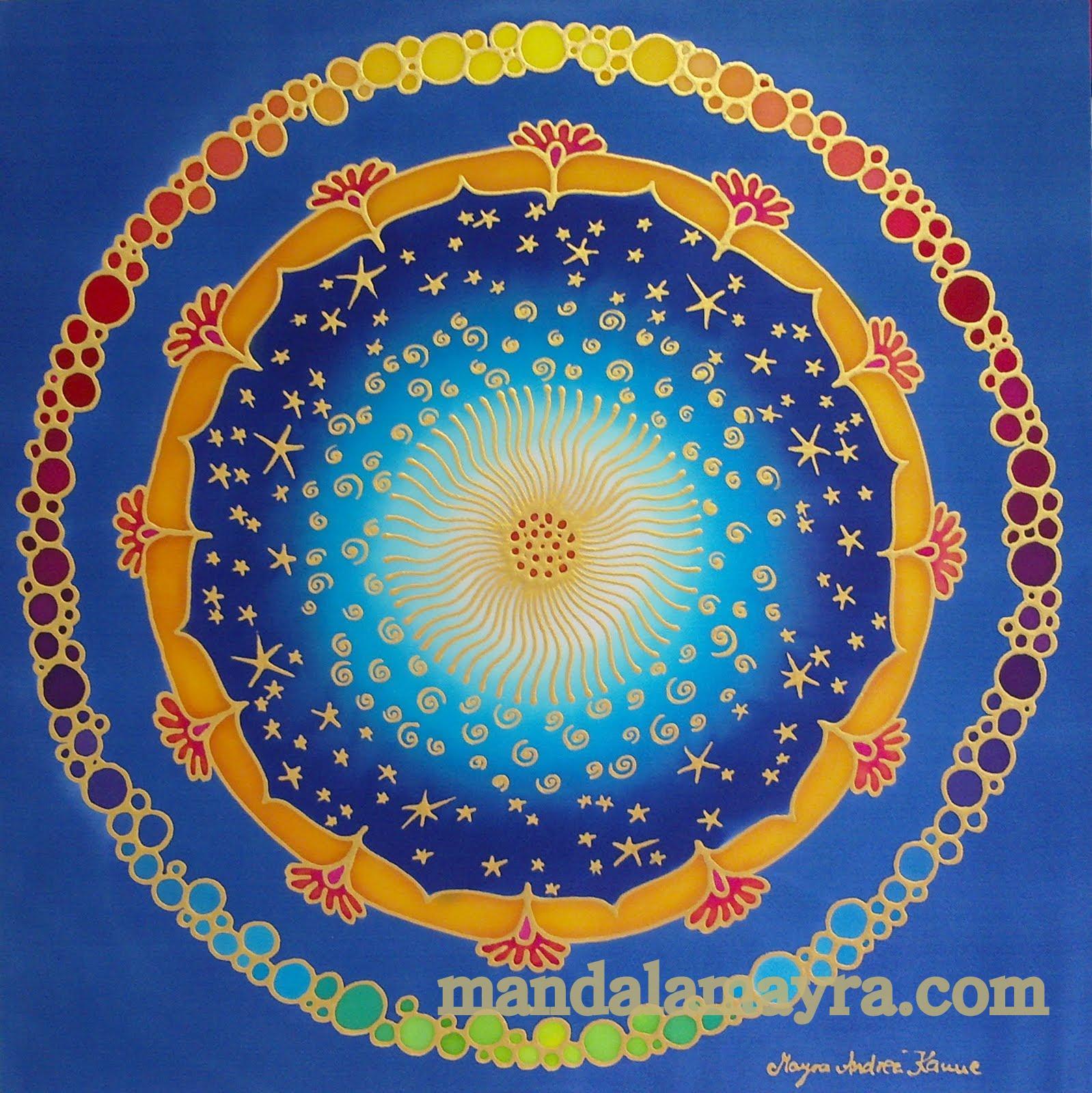 mandala mayra Significado de los colores