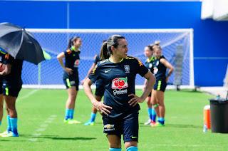 Seleção Brasileira Feminina realiza treino aberto nesta quinta (6) e ingressos em pontos físicos começam a ser vendidos nesta quarta (5)