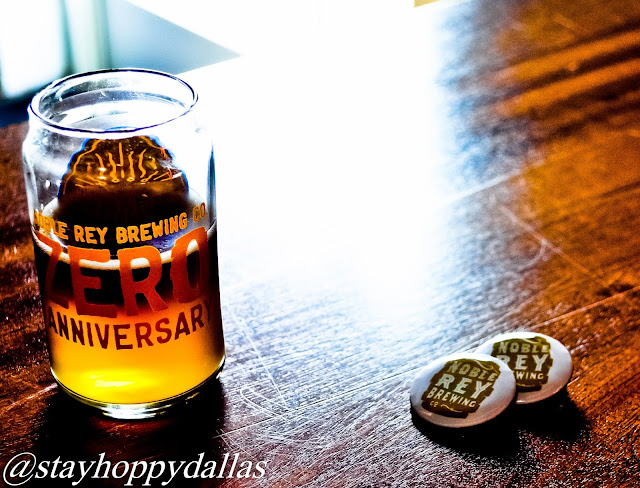 Noble Rey Brewing Zero Anniversary