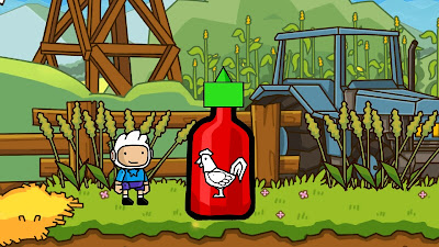Sriracha in Scribblenauts Unlimited